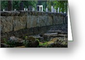 Olympia Greeting Cards - Olympia Greece Greeting Card by Bob Christopher