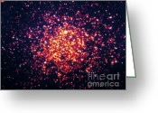 Star Clusters Greeting Cards - Omega Centauri, Globular Cluster Greeting Card by Nasa