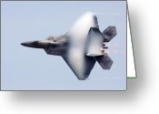 Afterburner Greeting Cards - On the Infinite Highway Greeting Card by Mitch Cat