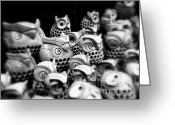 Symbolic Waiting Greeting Cards - On The Yamanote Line Greeting Card by J J  Everson