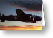 Raf Photo Greeting Cards - On Through the Night Greeting Card by Kris Dutson