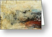 Abstracts Greeting Cards - Once in a Lifetime Greeting Card by Michel  Keck