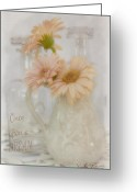 Topaz Greeting Cards - Once Upon a Dream  Greeting Card by Sandra Rossouw