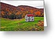 Wv Greeting Cards - Once Upon a Mountainside Greeting Card by Steve Harrington