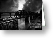 White Wing Greeting Cards - Once Upon A Time In The Story Book Town of Benicia California - 5D18849 - Black and White Greeting Card by Wingsdomain Art and Photography