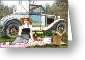 Model A Greeting Cards - One Nice Day Greeting Card by James Granberry