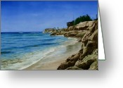 California Painting Greeting Cards - Oneill Ranch Greeting Card by James Robertson