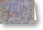 Image Overlay Greeting Cards - Opalescent Greeting Card by Don  Wright
