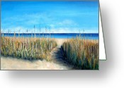 Myrtle Beach South Carolina Greeting Cards - Open Invitation Greeting Card by Laurie Morgan