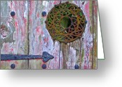 Digital Image Greeting Cards - Open the Gate Greeting Card by Elizabeth Hoskinson