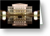 Neo-classical Greeting Cards - Opera - Leipzig Greeting Card by Marc Huebner