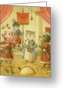 Opera Greeting Cards - Opera Greeting Card by Kestutis Kasparavicius