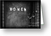 Civil Rights Photo Greeting Cards - Oppression Greeting Card by Luke Moore