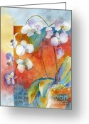 Orchids Greeting Cards - Orchids In Bend Greeting Card by Pat Katz