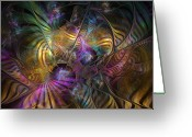 Sacred Digital Art Greeting Cards - Ordinary Instances Greeting Card by NirvanaBlues