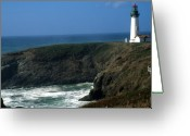 National Treasure Greeting Cards - Oregon Coast Greeting Card by Robert  Torkomian