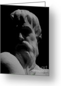 Greek Sculpture Greeting Cards - Orpheus Looks Back Greeting Card by RC DeWinter