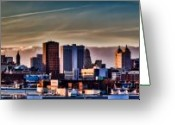 The City Greeting Cards - Our Finest Greeting Card by Chuck Alaimo