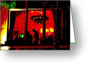 Staley Art Greeting Cards - Our Specials Tonight Are... Greeting Card by Chuck Staley