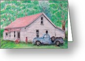 Door County Landmark Greeting Cards - Out of Business Greeting Card by Susan DeLain