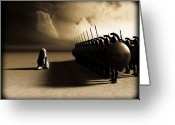 Greek Photo Greeting Cards - Out of Egypt Greeting Card by Bob Orsillo