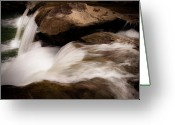 Tamyra Ayles Greeting Cards - Over The River Greeting Card by Tamyra Ayles