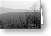 Seasonal Greeting Cards Greeting Cards - Overlook Greeting Card by Gerlinde Keating - Keating Associates Inc