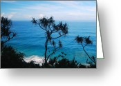 Na Pali Coast Kauai Greeting Cards - Overlook Greeting Card by Michael Peychich