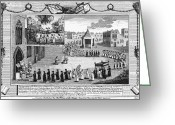 1555 Greeting Cards - Oxford Martyrs, 1556 Greeting Card by Granger