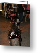 Harley Davidson Rally Greeting Cards - Ozzy Osborne bike Greeting Card by Robert  Torkomian