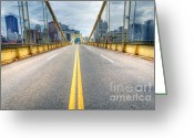Roberto Greeting Cards - PA0009 Pittsburgh 9 Greeting Card by Steve Sturgill