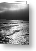 Visual Artist Greeting Cards - Pacific Ocean. Huntington Beach. California Greeting Card by Viktor Savchenko