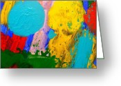 Expressive Photo Greeting Cards - Palimpsest III Greeting Card by John  Nolan