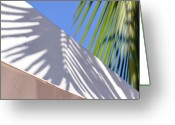 Palm Leaf Greeting Cards - Palm Leaf Greeting Card by SteffenTuck