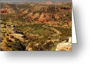 Palo Duro Canyon State Park Greeting Cards - Palo Duro Canyon Texas Greeting Card by Robert Frederick