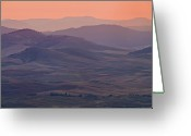 Mountains Greeting Cards - Palouse Morning From Steptoe Butte Greeting Card by Donald E. Hall