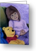 Toys Pastels Greeting Cards - Pals Greeting Card by Jan Amiss