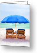 Panama City Beach Greeting Cards - Panama City Beach  Greeting Card by ViZualstudio