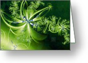 Pandora Greeting Cards - Pandoras Bouquet Greeting Card by Dan Turner