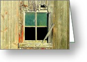 Dilapidated Greeting Cards - Paneless Greeting Card by Claude Oesterreicher
