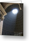 See Greeting Cards - Pantheon. Rome Greeting Card by Bernard Jaubert