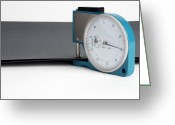 Measurement Greeting Cards - Paper Gauge Greeting Card by Photo Researchers, Inc.