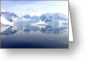 Antarctica Greeting Cards - Paradise Bay Greeting Card by Kelly Cheng Travel Photography