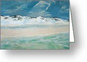 Santa Rosa Beach Greeting Cards - Paradise Greeting Card by Racquel Morgan