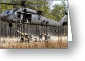 Load Greeting Cards - Paratroopers Connect A Howitzer Greeting Card by Stocktrek Images
