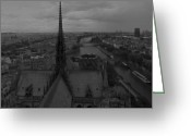 Sky Jewelry Greeting Cards - Paris dh 1 Greeting Card by Wessel Woortman