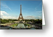 France Greeting Cards - Paris Greeting Card by Dian Qi
