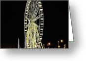 Iphonesia Greeting Cards - Parisian Night Greeting Card by Marianna Mills