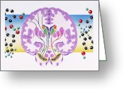 Functional  Greeting Cards - Parkinsons Disease Greeting Card by John Bavosi