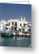 Greek Photo Greeting Cards - Paros Greeting Card by Jane Rix